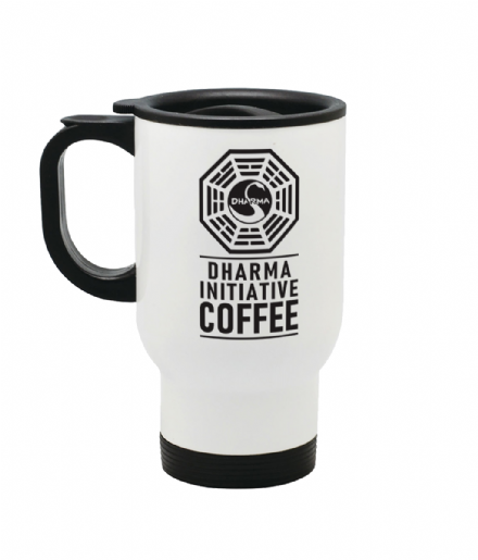Lost Inspired Dharma Initiative Stainless Steel Travel Thermal Coffee Mug